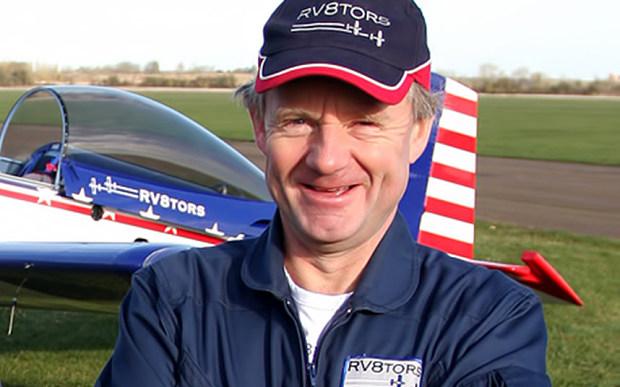Pilot Andy Hills