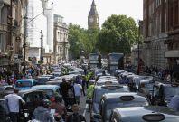 London Europe traffic