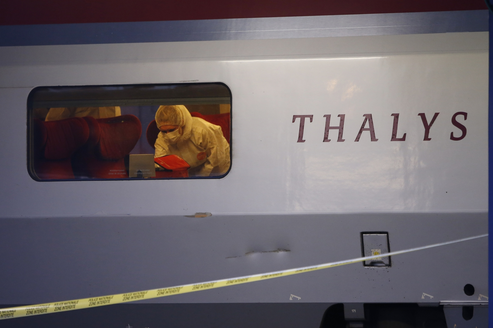 Thalys attack France