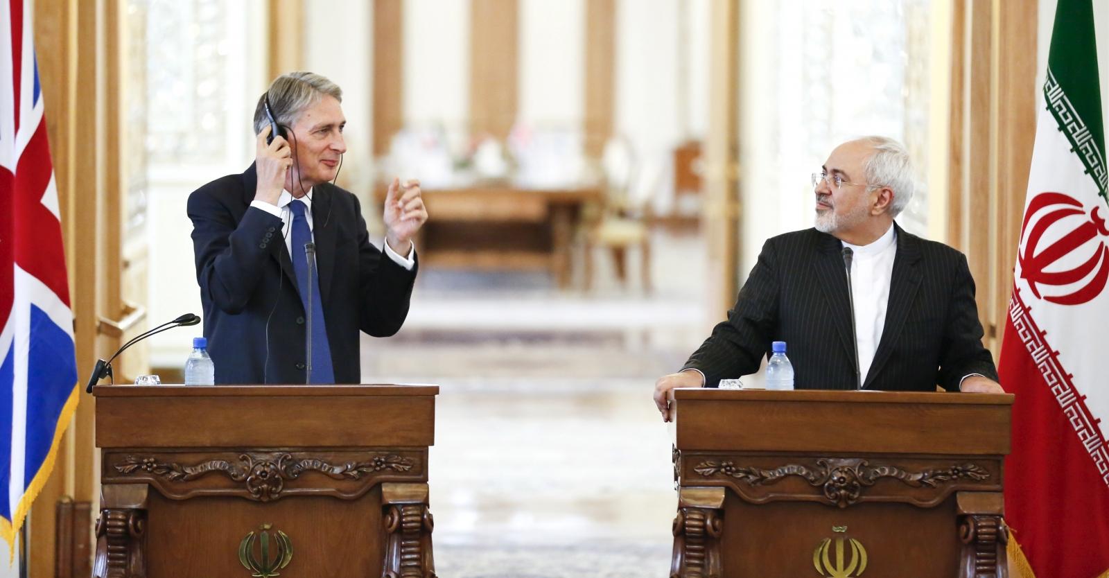 Hammond in Tehran