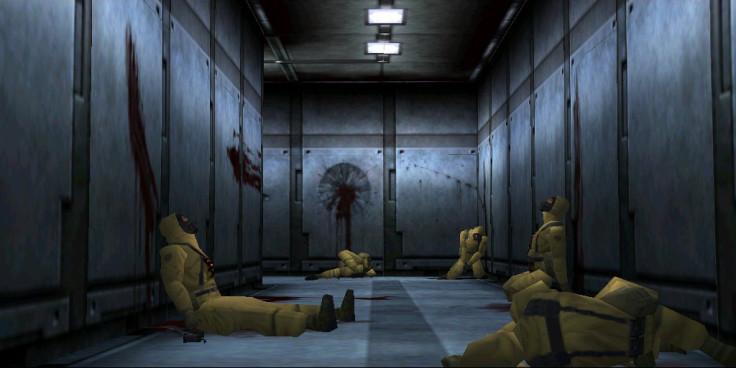 Metal Gear Solid hallway
