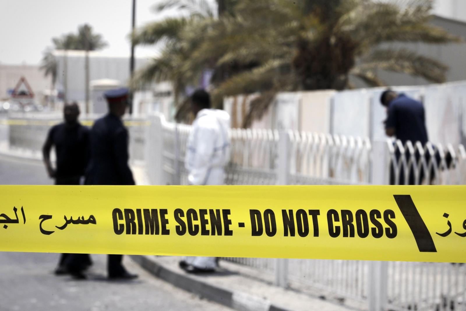 Bahrain bombing policemen killed