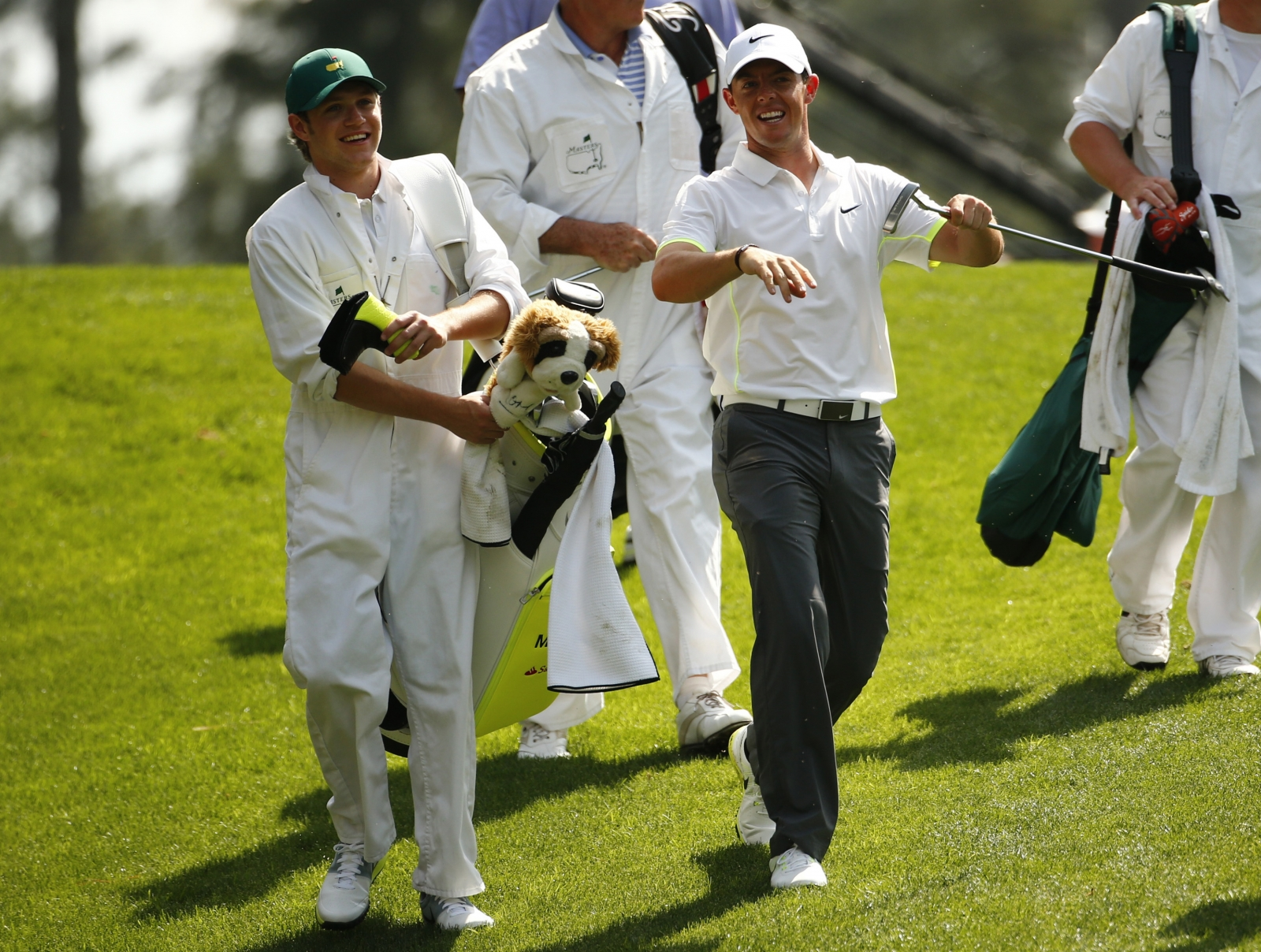 Niall Horan caddy