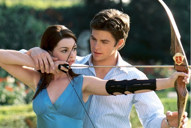 Chris Pine and Anne Hathaway