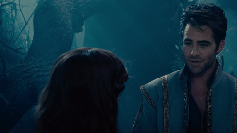 Chris Pine in Into The Woods