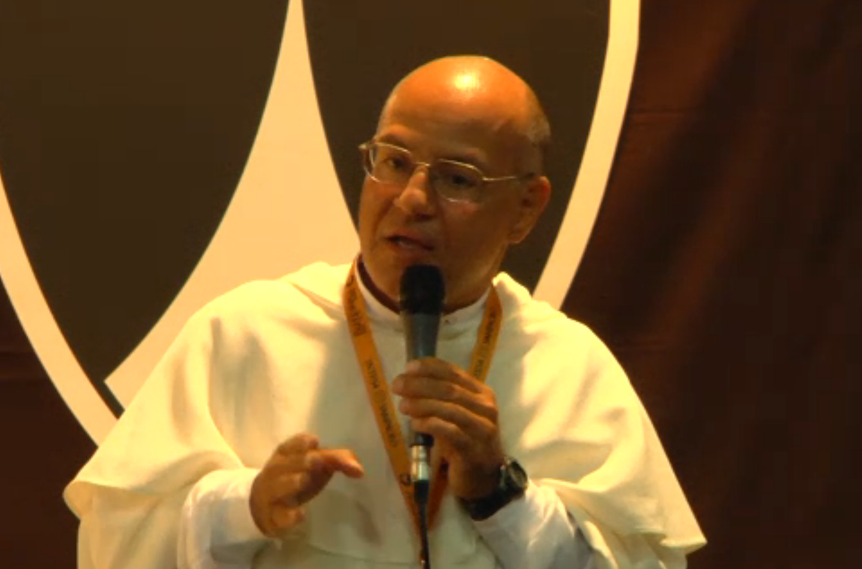 Meeting Rimini priest against gay marriage