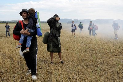 Macedonia migrants