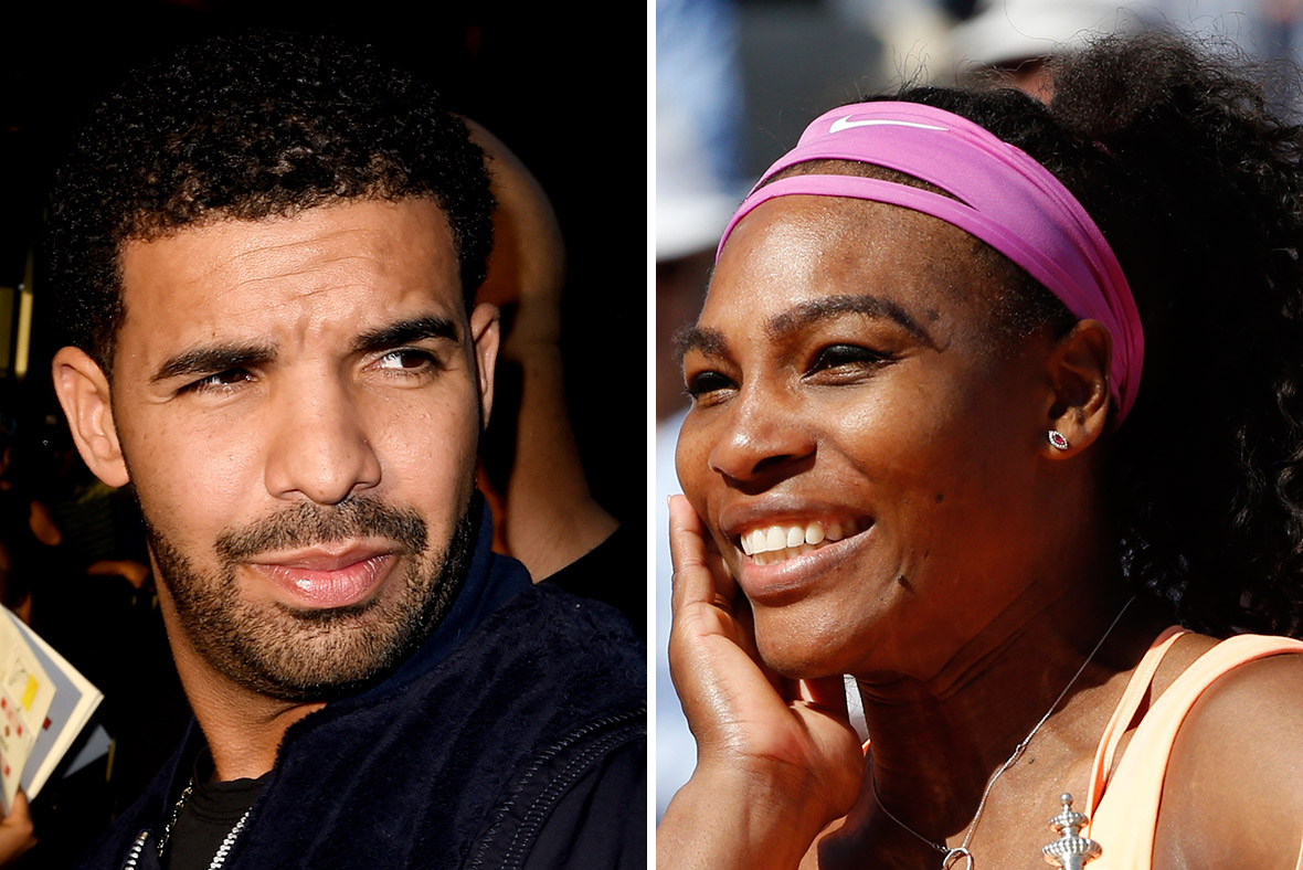 Drake and Serena Williams