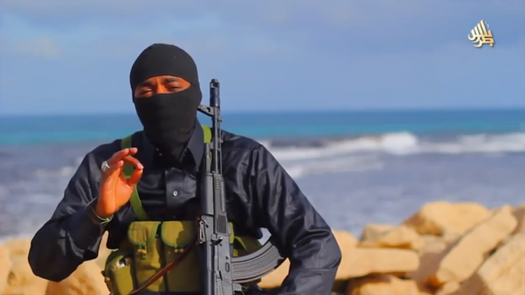 A Masked Fighter With Saudi Arabian Accent Identified As Abu Ali Jazrawi Appeared In Islamic State Propaganda August 2015 Social Media