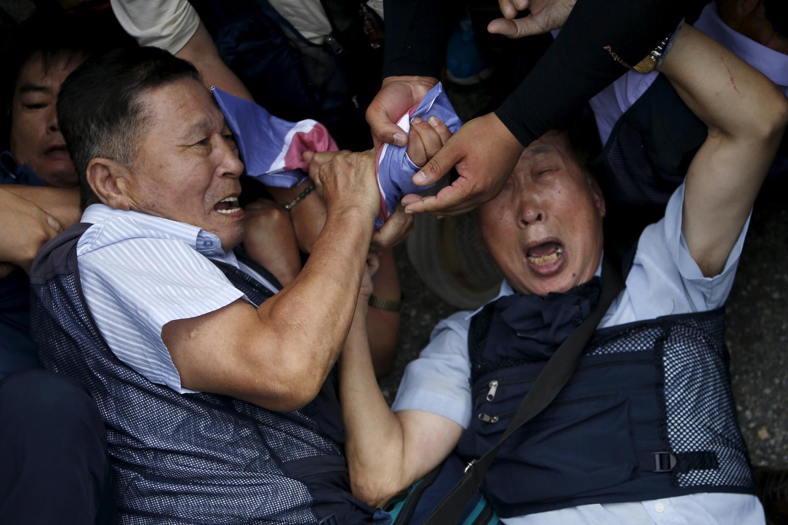 North South Korea tensions