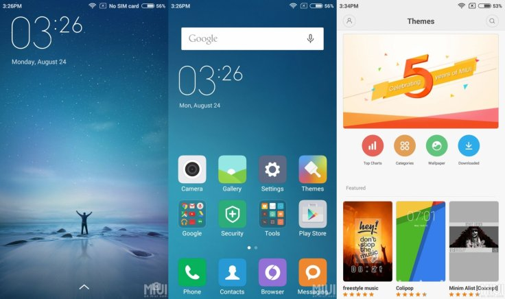 Xiaomi releases MIUI 7 global beta ROM 5 8 22 OTA for a slew
