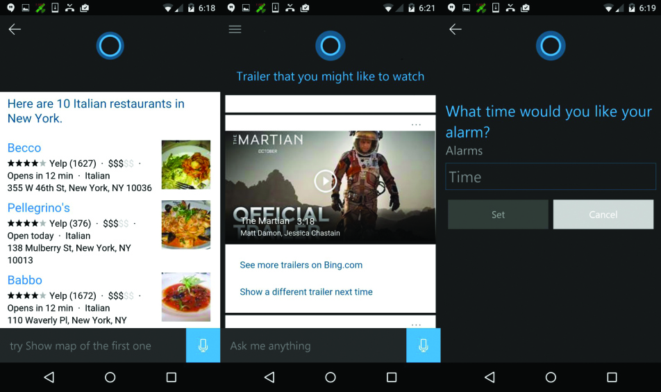 Cortana for Android launched