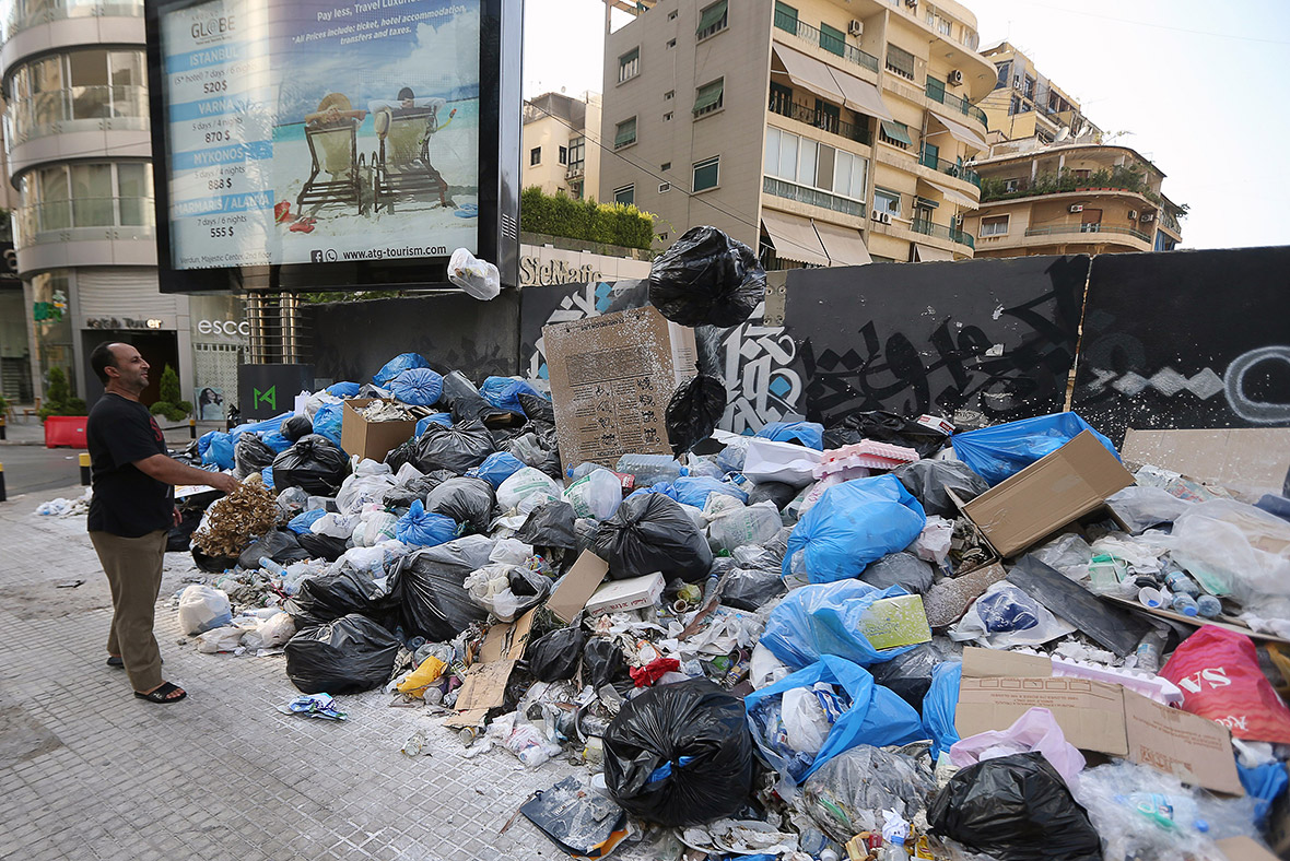 Beirut rubbish collection you stink