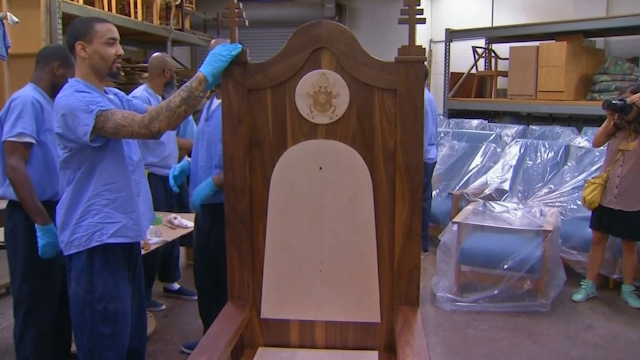 Papal chair