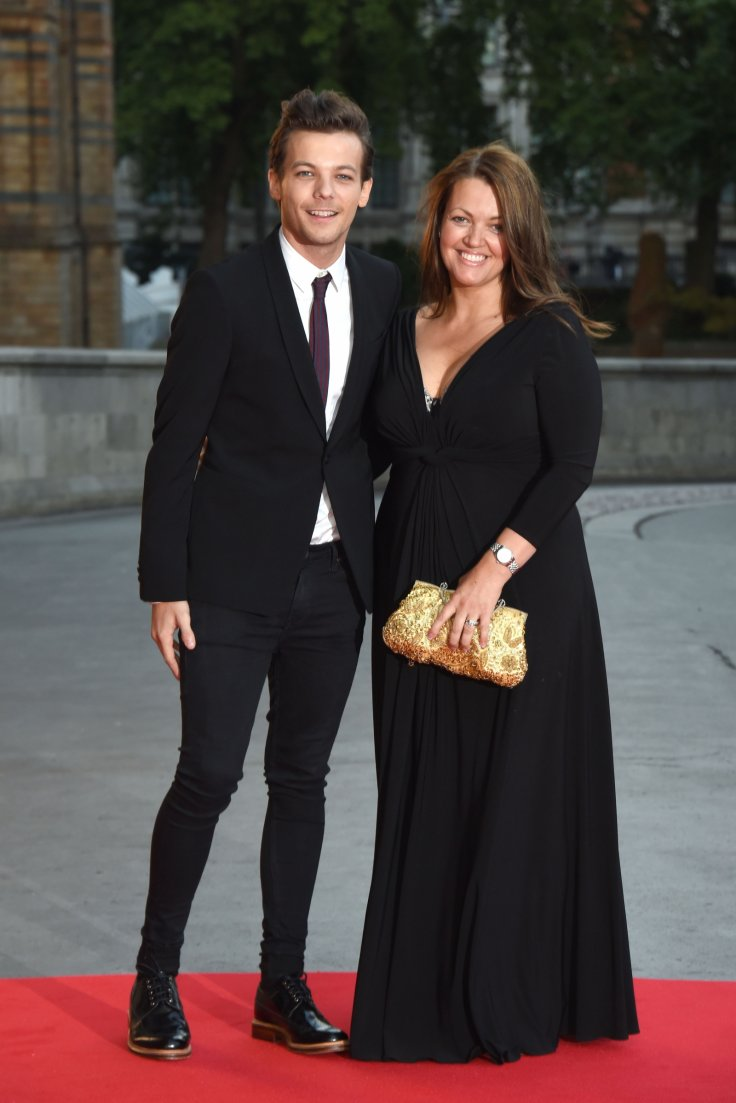 Louis Tomlinson and mother, Johannah
