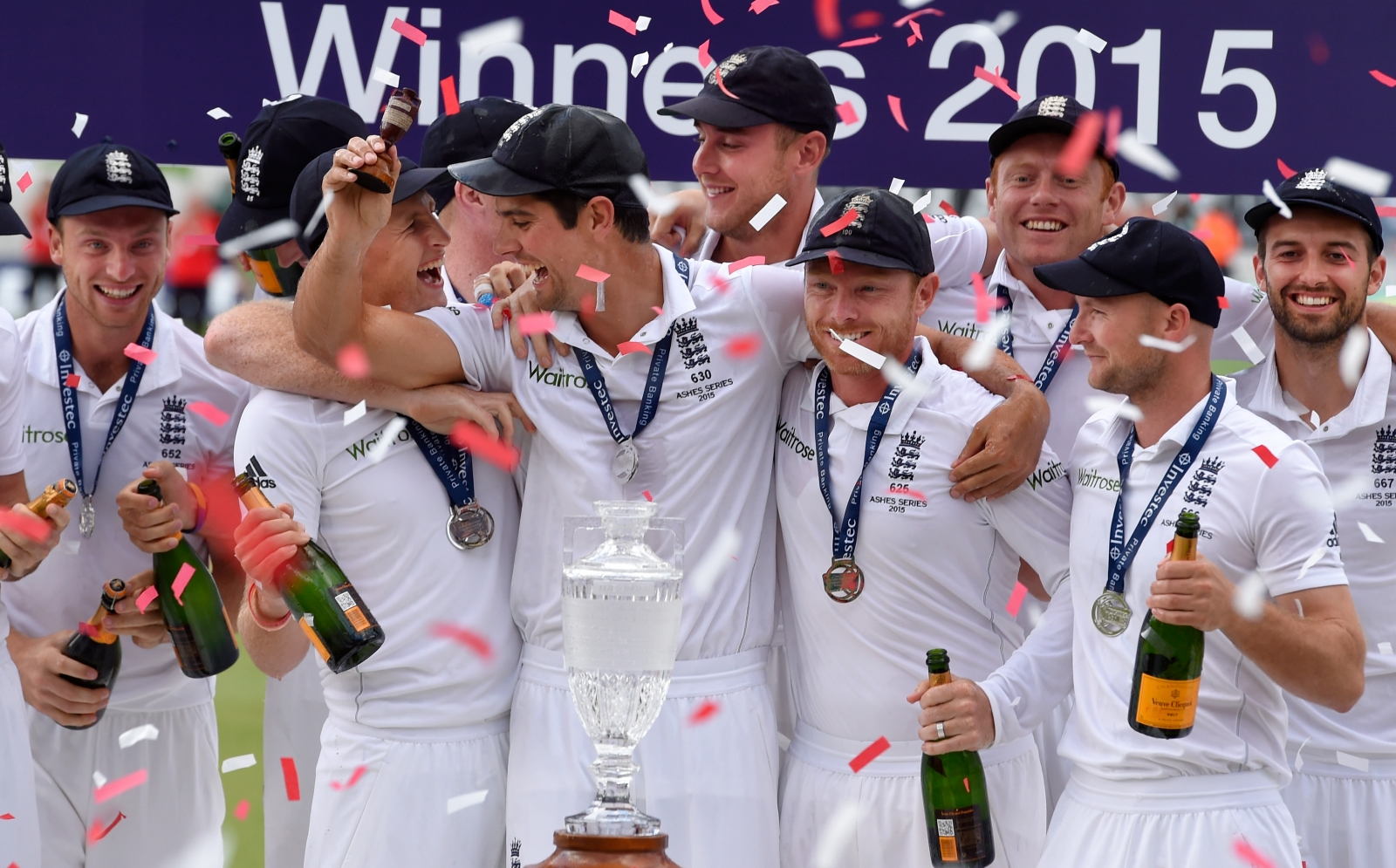 England win the Ashes