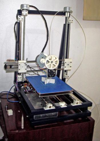 The e-waste 3D printer designed by Techfortrade