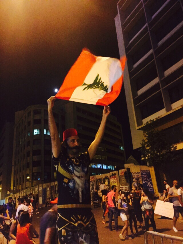 Lebanon YouStink protest
