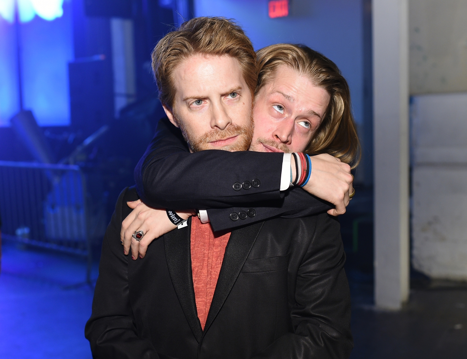 Seth Green and Macaulay Culkin