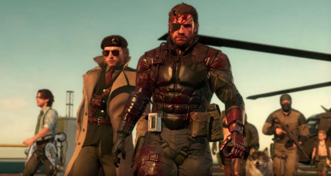 Metal Gear Solid 5 Big Boss