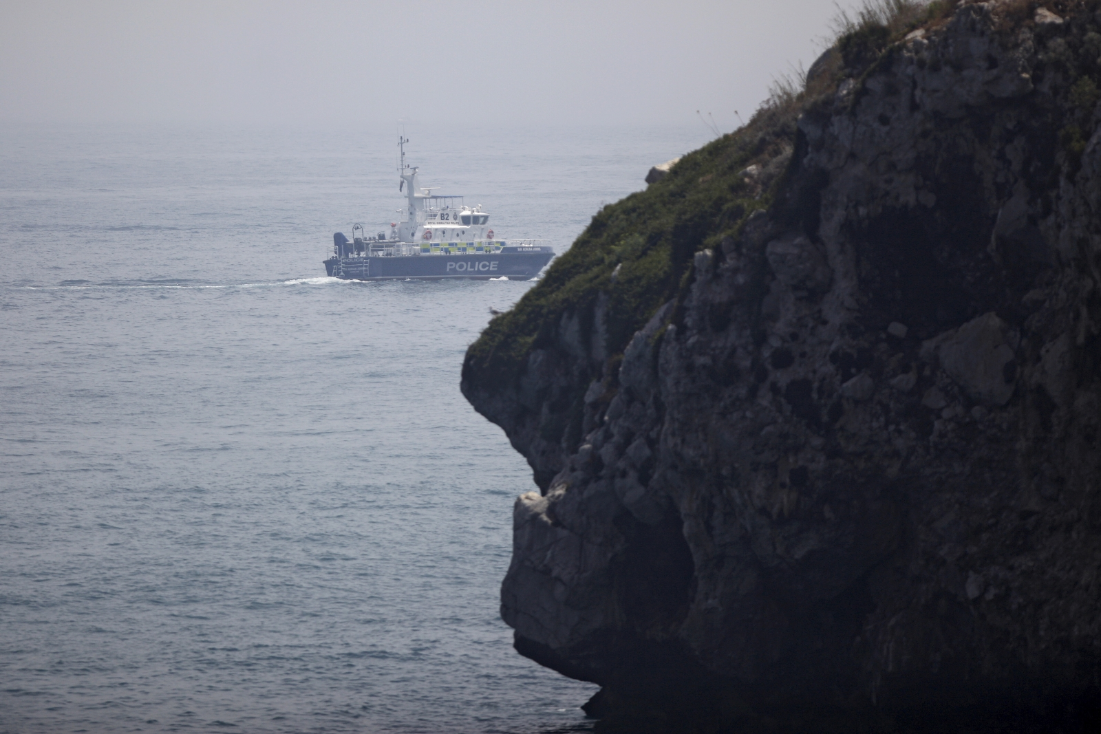 Gibraltar waters dispute