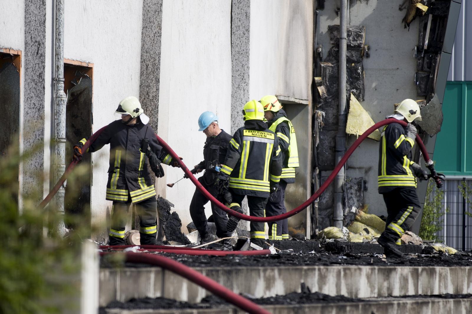 Germany migrant arson