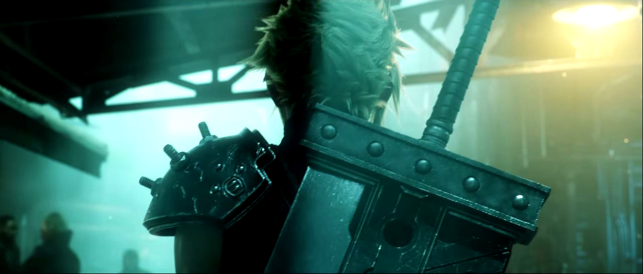 Final Fantasy FF7 Remake Cloud