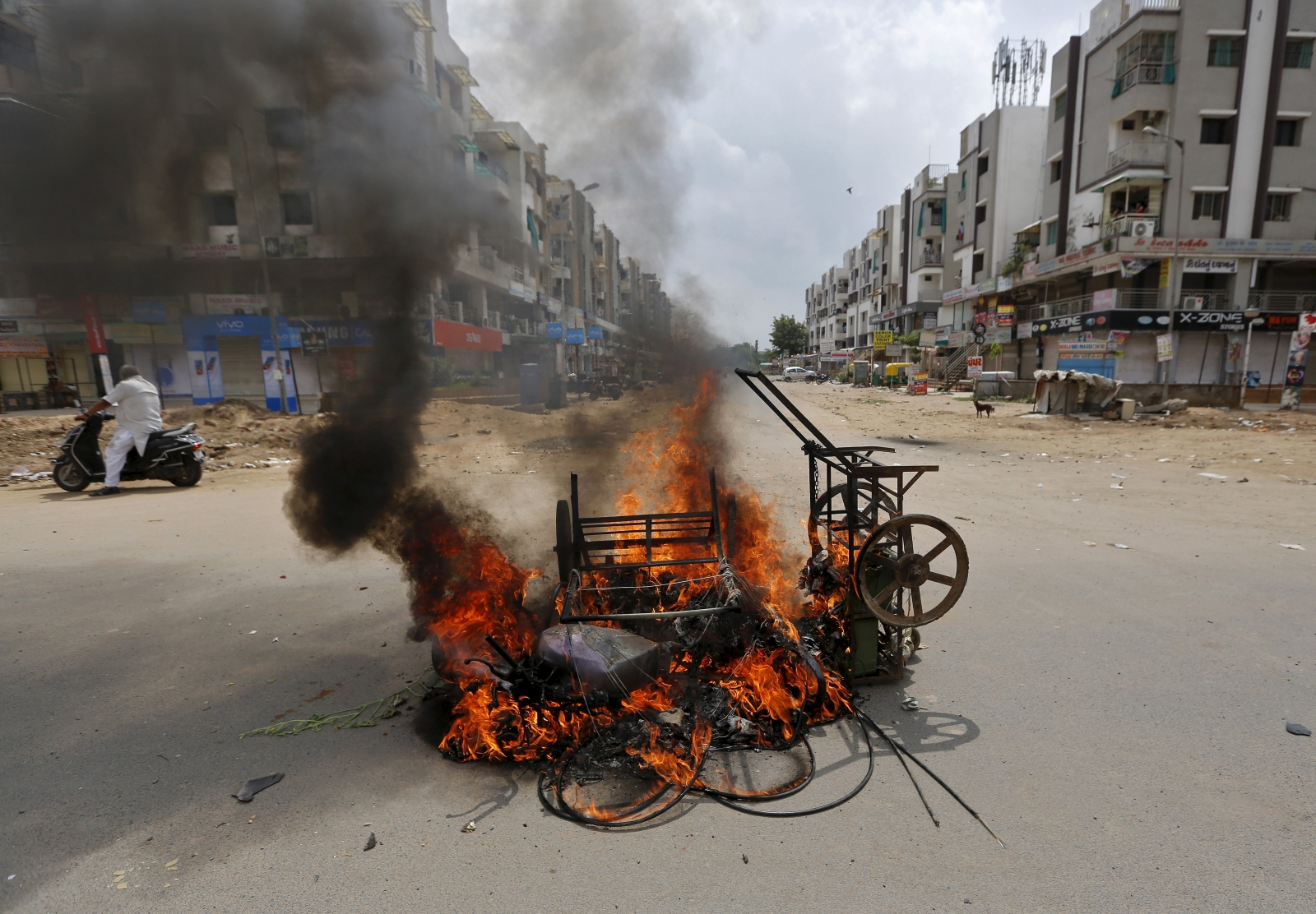 India Gujarat unrest