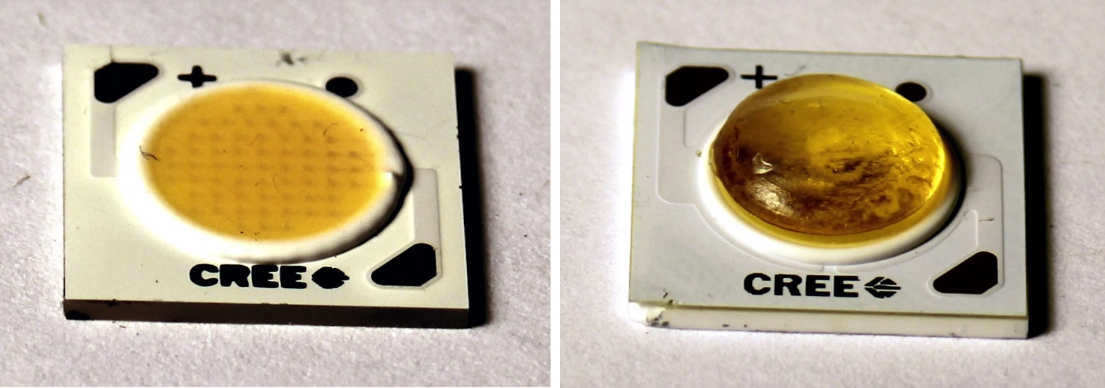 LED lenses 3D printed using MIT's MultiFab