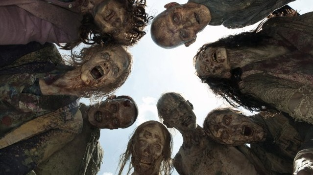 The Walking Dead walkers