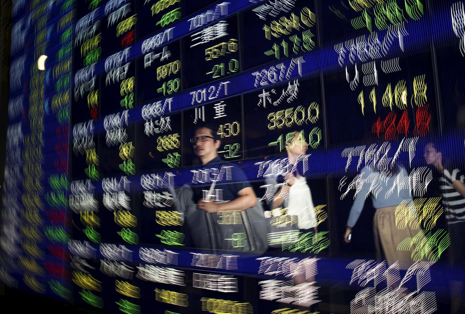 Nikkei 225 display