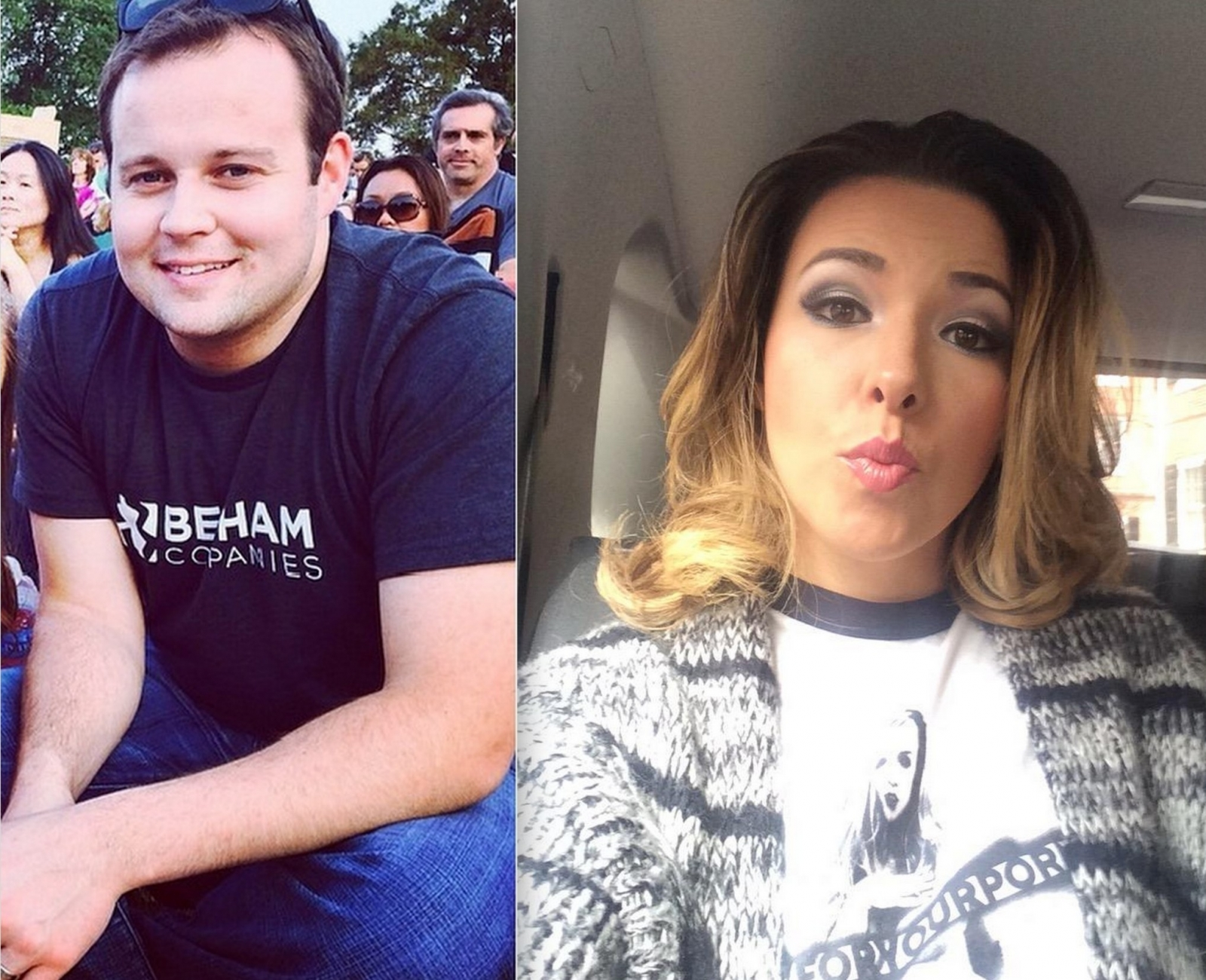 Josh Duggar and Danica Dillon