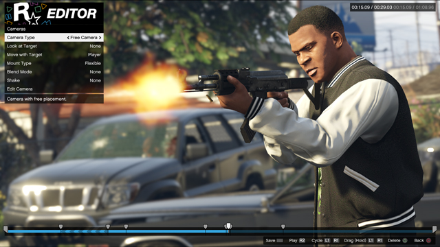 Rockstar Editor for PS4 and Xbox One