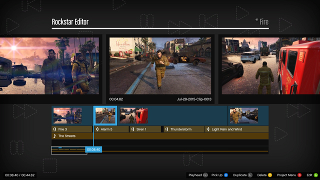 GTA 5 Rockstar Editor