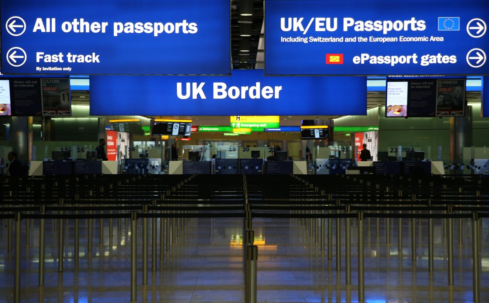 UK border - Heathrow