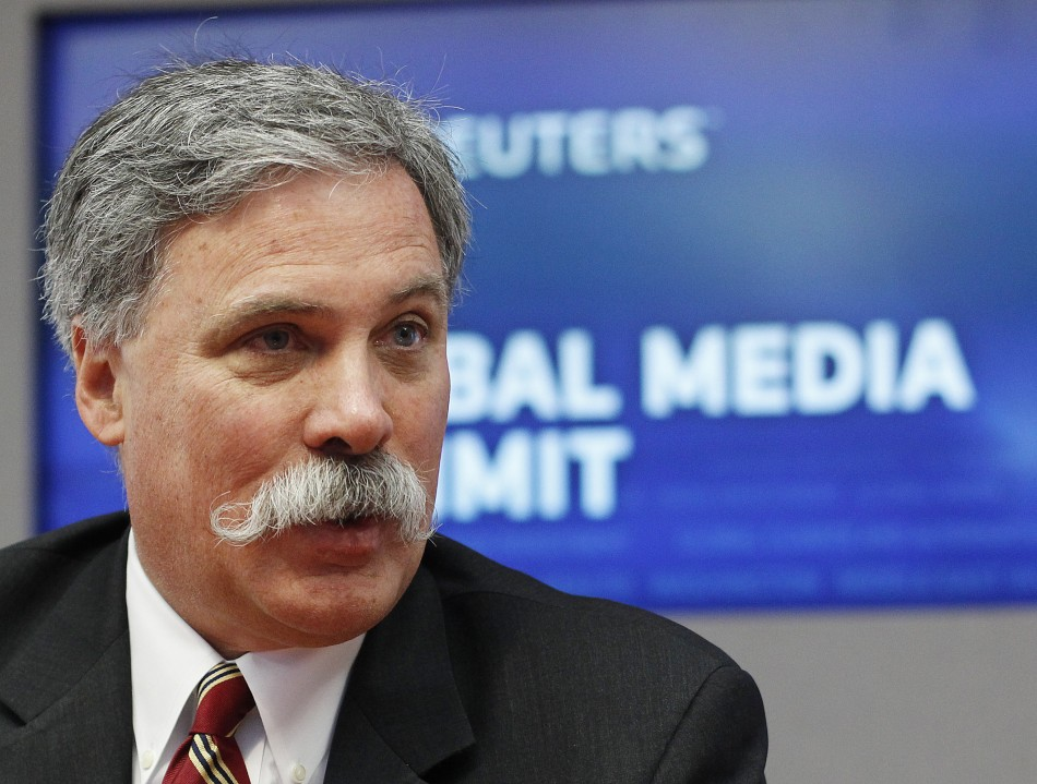 Chase Carey, President, COO and Deputy Chairman of News Corp., speaks during the Reuters 2010 Global Media Summit in New York