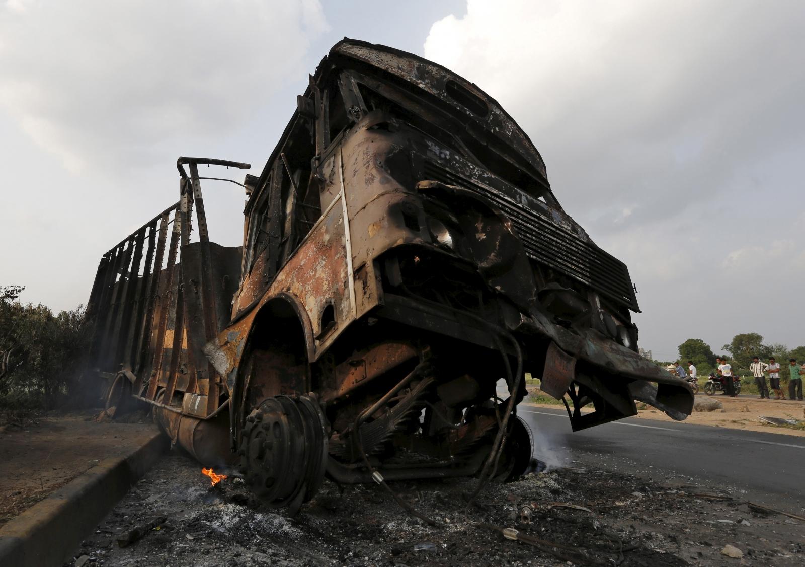 India: Gujarat tensions