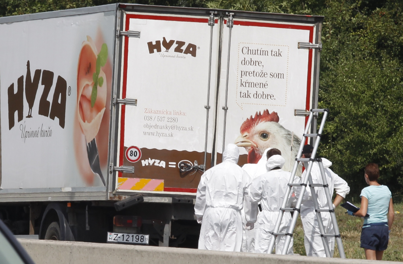 Austria refugees dead in lorry