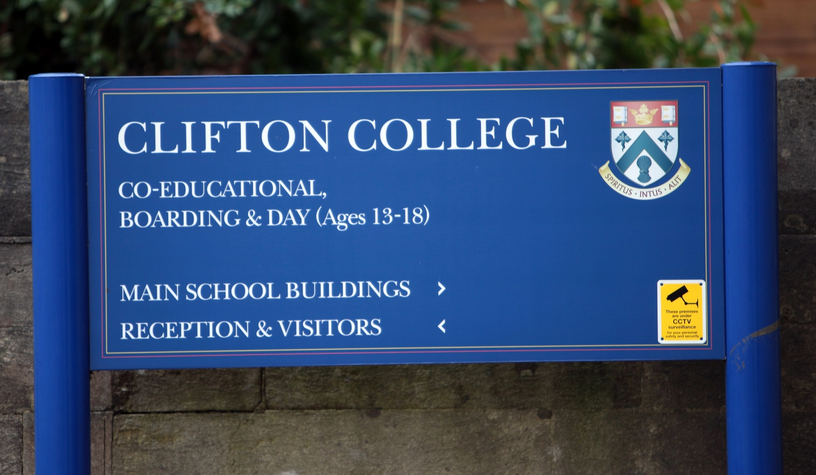 A former teacher at Clifton College, Bristol