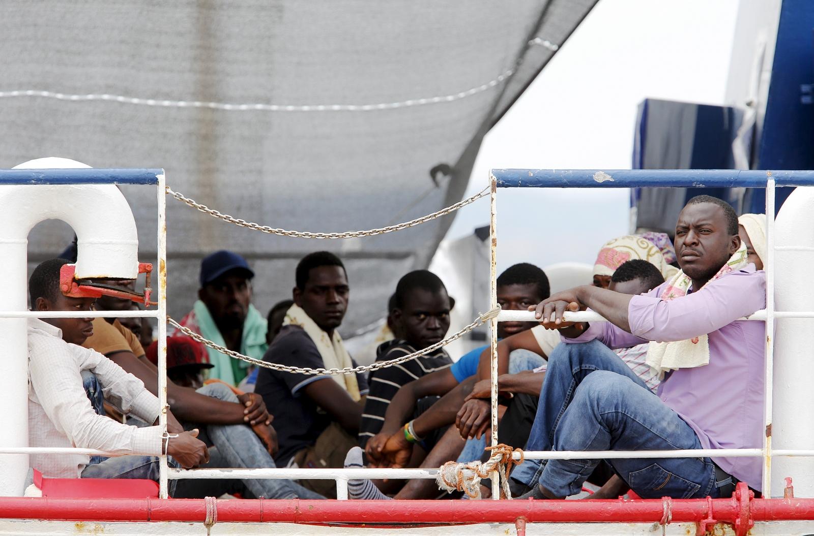 EU refugees Italy