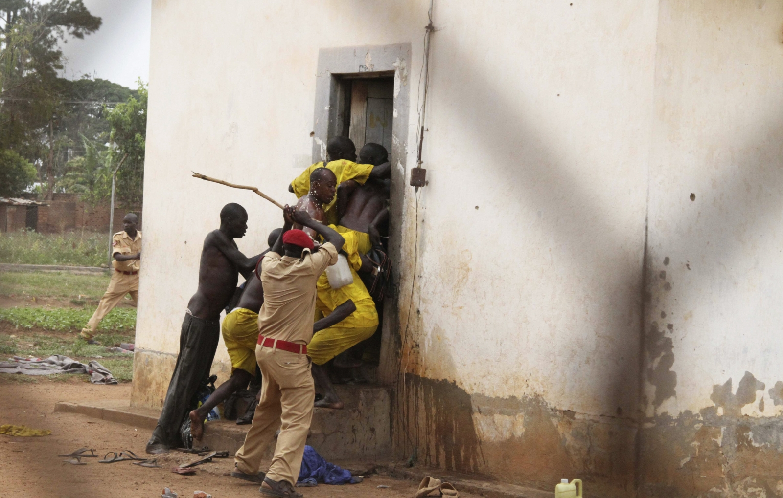 Uganda prisons