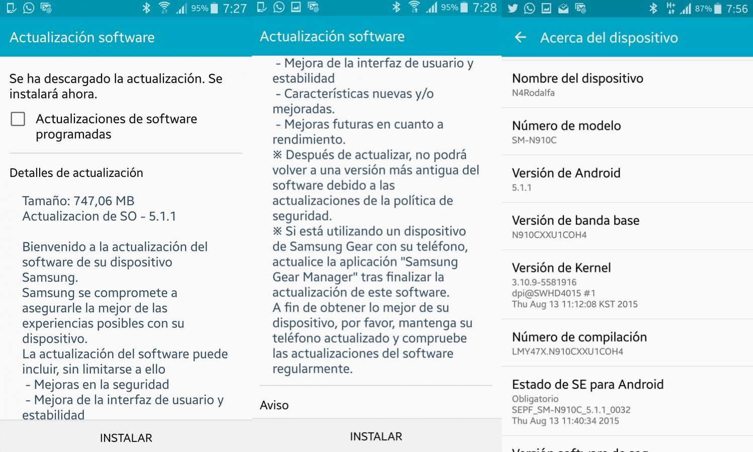 Samsung releases Android 5 1 1 OTA update for Galaxy Note 4