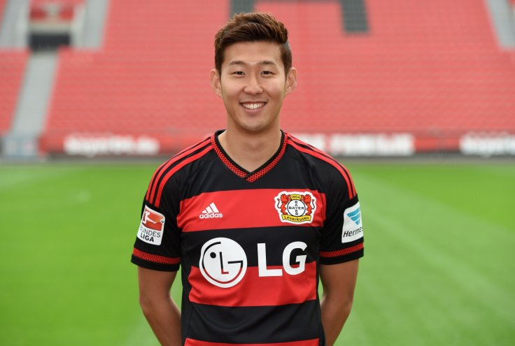 newest f3d0b 909a3 Tottenham complete signing of Heung-Min Son from Bayer ...