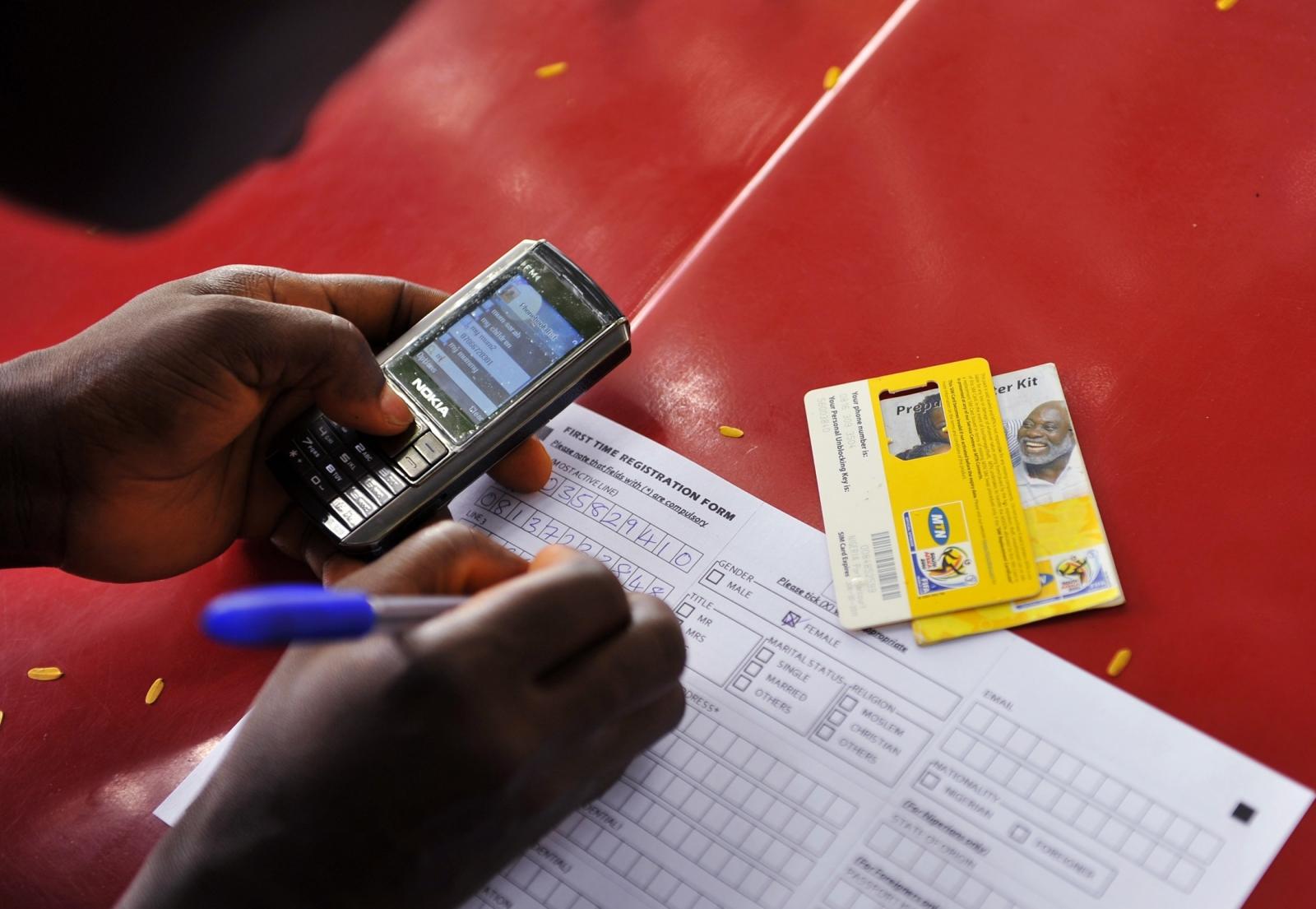 Boko Haram Nigeria mobile phones