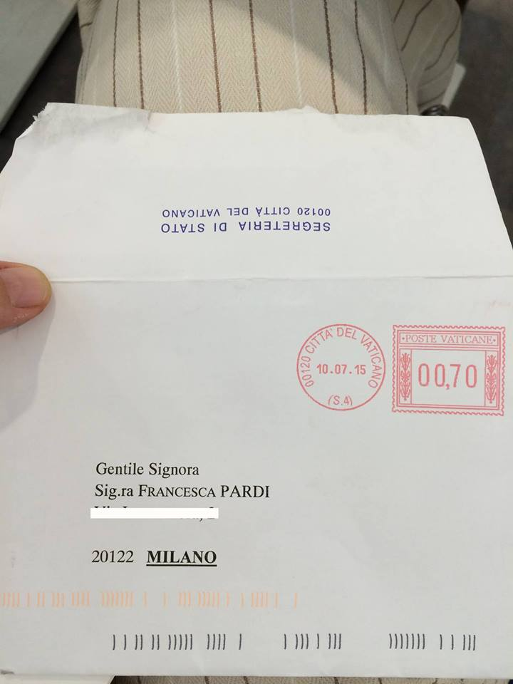 Pope Francis letter to LGBT author