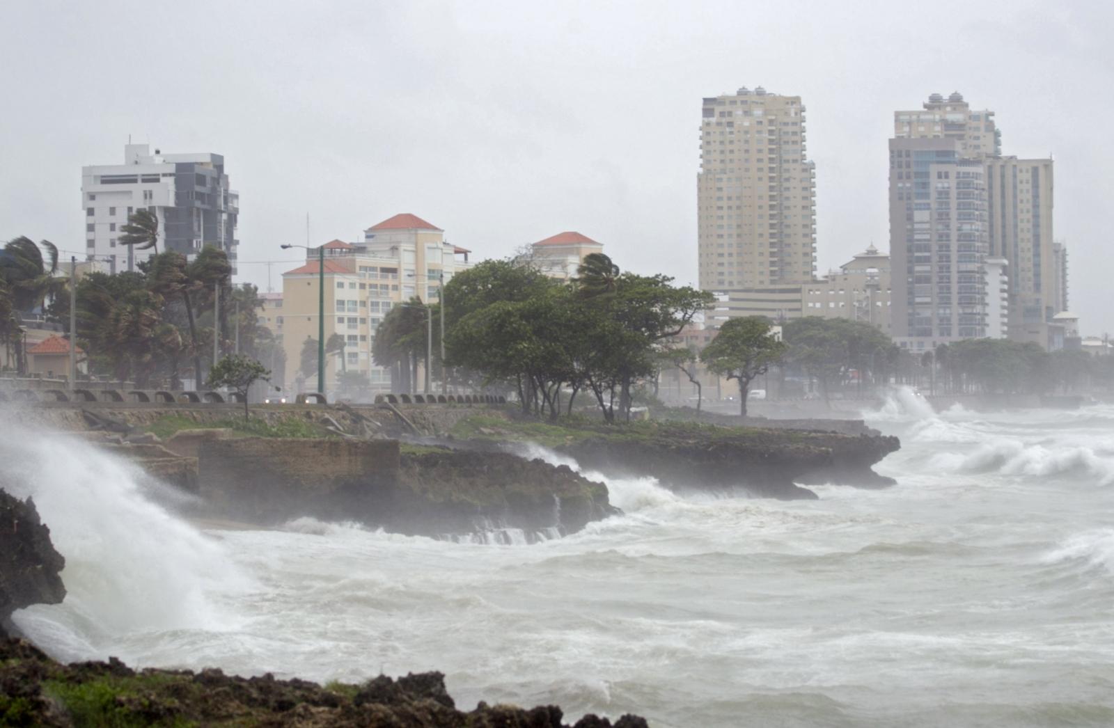 Tropical Storm Erika hits Dominican Republic
