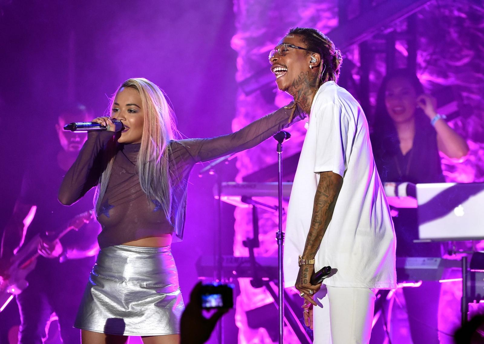 Rita Ora and Wiz Khalifa