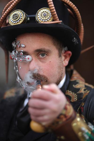 Asylum Steampunk festival 2015 Lincoln
