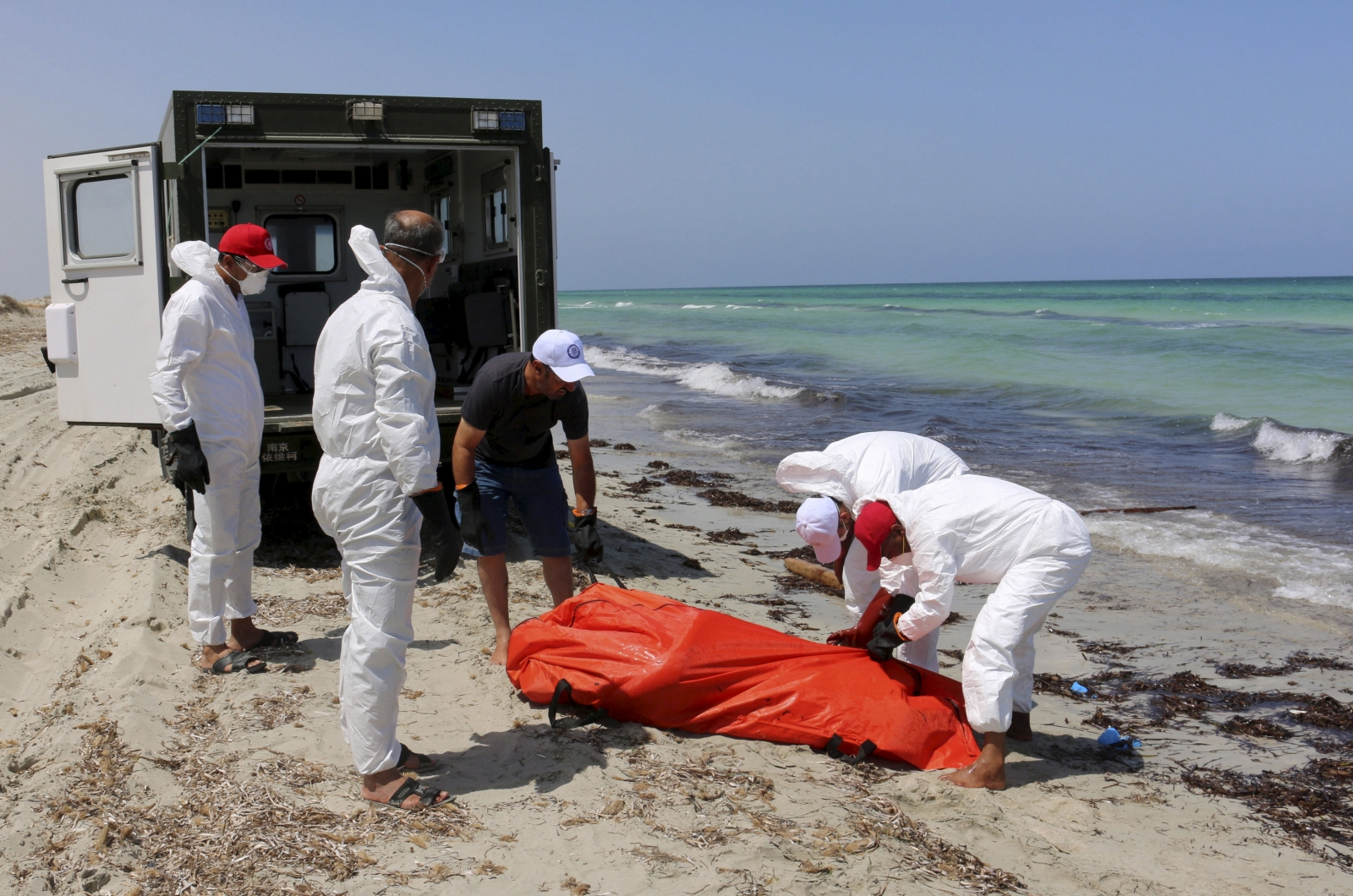 Zuwara Libya migrants drowned