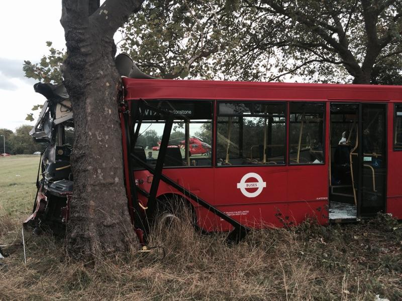 Newham bus crash